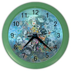 Led Zeppelin Iii Art Wall Clock (color)