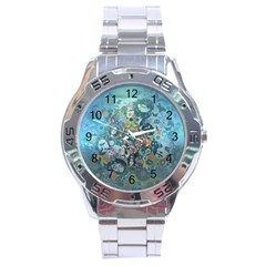 Led Zeppelin Iii Art Stainless Steel Watch