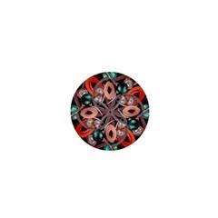 Luxury Ornate Artwork 1  Mini Button