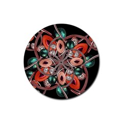 Luxury Ornate Artwork Drink Coaster (Round)
