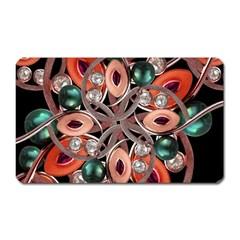 Luxury Ornate Artwork Magnet (Rectangular)