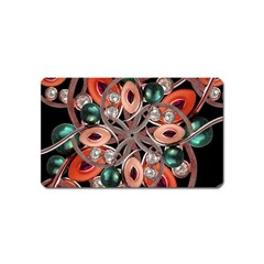Luxury Ornate Artwork Magnet (name Card)