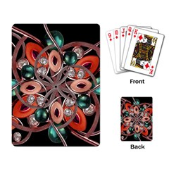 Luxury Ornate Artwork Playing Cards Single Design