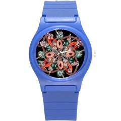 Luxury Ornate Artwork Plastic Sport Watch (Small)