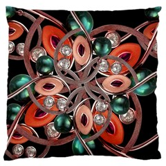 Luxury Ornate Artwork Large Cushion Case (single Sided)
