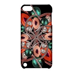 Luxury Ornate Artwork Apple Ipod Touch 5 Hardshell Case With Stand