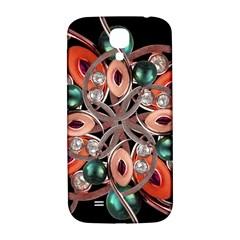 Luxury Ornate Artwork Samsung Galaxy S4 I9500/i9505  Hardshell Back Case