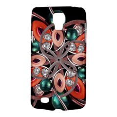 Luxury Ornate Artwork Samsung Galaxy S4 Active (I9295) Hardshell Case