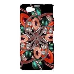 Luxury Ornate Artwork Sony Xperia Z1 Compact Hardshell Case