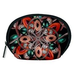 Luxury Ornate Artwork Accessories Pouch (Medium)