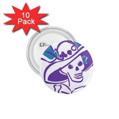 Day Of The Dead 1.75  Button (10 pack)