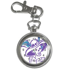 Day Of The Dead Key Chain Watch