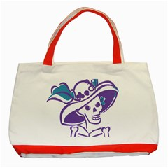 Day Of The Dead Classic Tote Bag (Red)