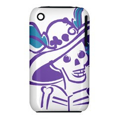 Day Of The Dead Apple iPhone 3G/3GS Hardshell Case (PC+Silicone)