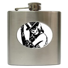 Day Of The Dead Hip Flask