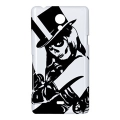Day Of The Dead Sony Xperia T Hardshell Case