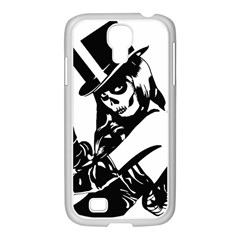 Day Of The Dead Samsung GALAXY S4 I9500/ I9505 Case (White)