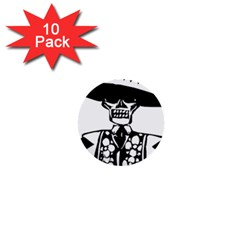 Day Of The Dead 1  Mini Button (10 pack)