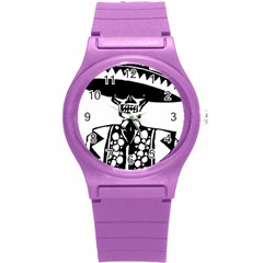 Day Of The Dead Plastic Sport Watch (Small)