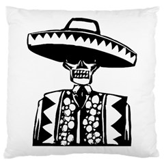 Day Of The Dead Large Cushion Case (Single Sided)