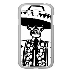 Day Of The Dead Samsung Galaxy Grand DUOS I9082 Case (White)