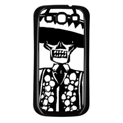 Day Of The Dead Samsung Galaxy S3 Back Case (Black)