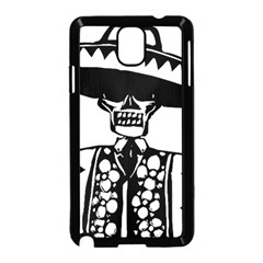 Day Of The Dead Samsung Galaxy Note 3 Neo Hardshell Case (Black)