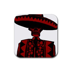 Day Of The Dead Drink Coaster (Square)