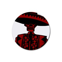 Day Of The Dead Drink Coasters 4 Pack (Round)