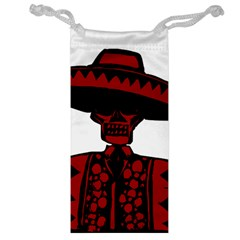 Day Of The Dead Jewelry Bag