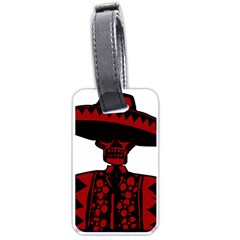 Day Of The Dead Luggage Tag (Two Sides)