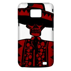 Day Of The Dead Samsung Galaxy S II i9100 Hardshell Case (PC+Silicone)