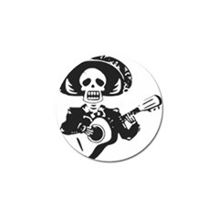 Day Of The Dead Golf Ball Marker