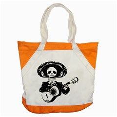Day Of The Dead Accent Tote Bag