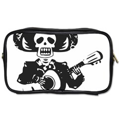 Day Of The Dead Travel Toiletry Bag (Two Sides)