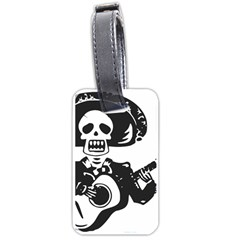 Day Of The Dead Luggage Tag (One Side)
