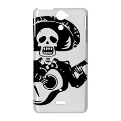 Day Of The Dead Sony Xperia V Hardshell Case
