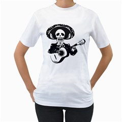 Day Of The Dead Women s T-Shirt (White)