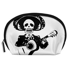 Day Of The Dead Accessories Pouch (Large)