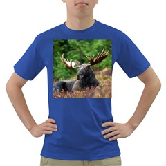 Majestic Moose Men s T-shirt (Colored)