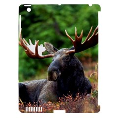 Majestic Moose Apple Ipad 3/4 Hardshell Case (compatible With Smart Cover)