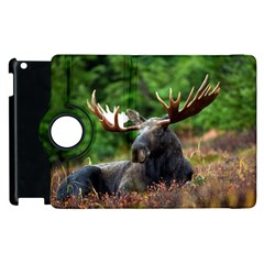 Majestic Moose Apple iPad 3/4 Flip 360 Case