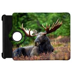Majestic Moose Kindle Fire HD 7  (1st Gen) Flip 360 Case