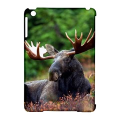 Majestic Moose Apple iPad Mini Hardshell Case (Compatible with Smart Cover)