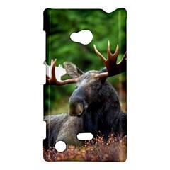Majestic Moose Nokia Lumia 720 Hardshell Case