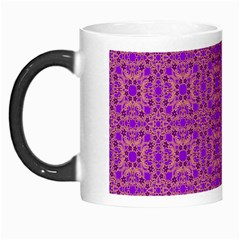 Purple Moroccan Pattern Morph Mug
