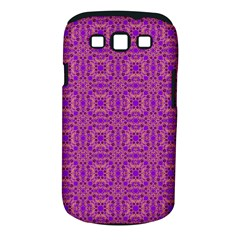 Purple Moroccan Pattern Samsung Galaxy S III Classic Hardshell Case (PC+Silicone)