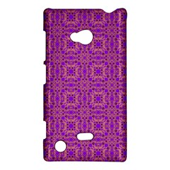 Purple Moroccan Pattern Nokia Lumia 720 Hardshell Case
