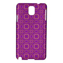 Purple Moroccan Pattern Samsung Galaxy Note 3 N9005 Hardshell Case