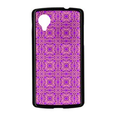 Purple Moroccan Pattern Google Nexus 5 Case (Black)